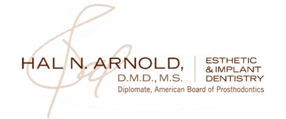 DR. HAL N. ARNOLD   D.M.D., M.S.